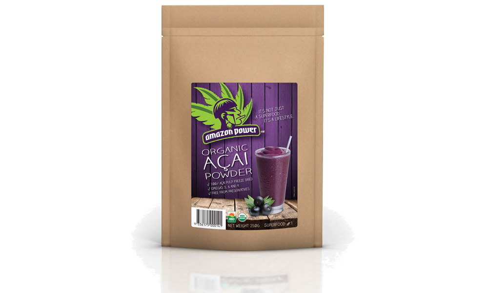 Organic Acai Powder Products