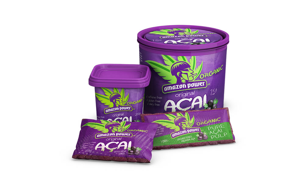 Wholesale Organic Acai Frozen
