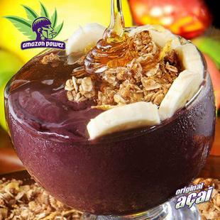 Acai with Banana and Apple Juice Smoothie