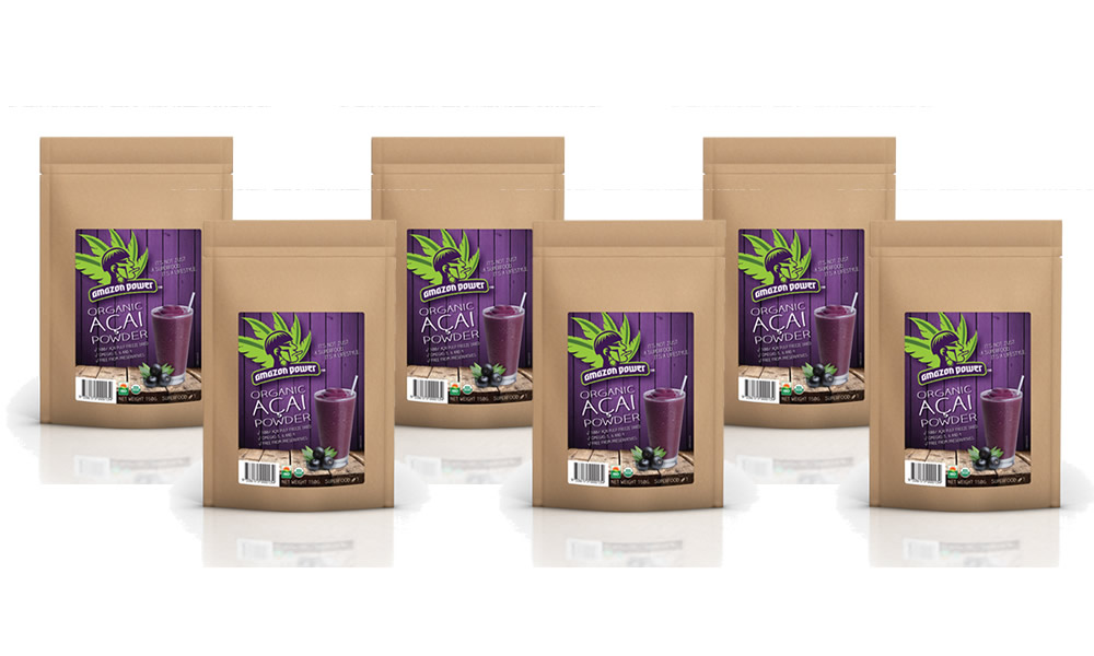 Acai Powder 150gr 6 Pack