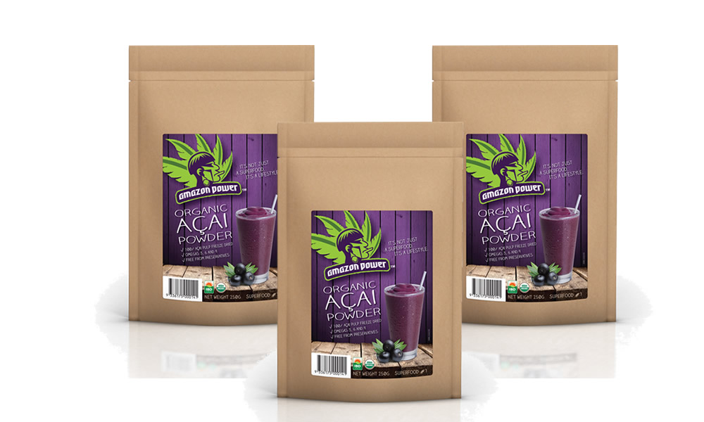 Acai Powder 250gr 3 Pack