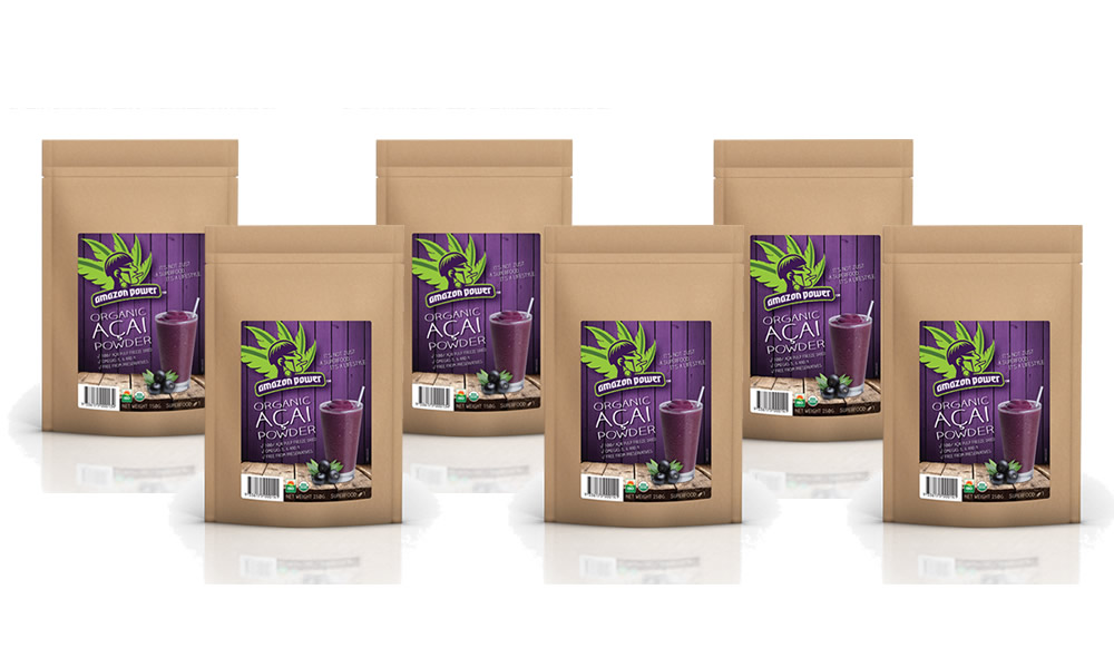 Acai Powder 250gr 6 Pack